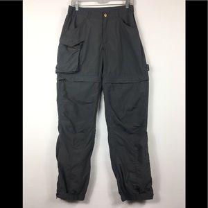 Women's haglofs hiking cargo pants size up 12 (M)